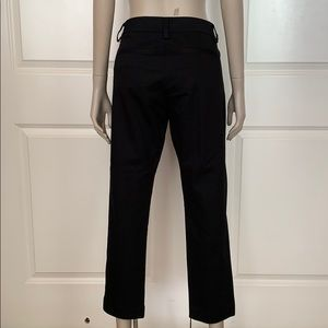 CAbi Pants - CAbi Cotton Black Cropped Pants with Stretch